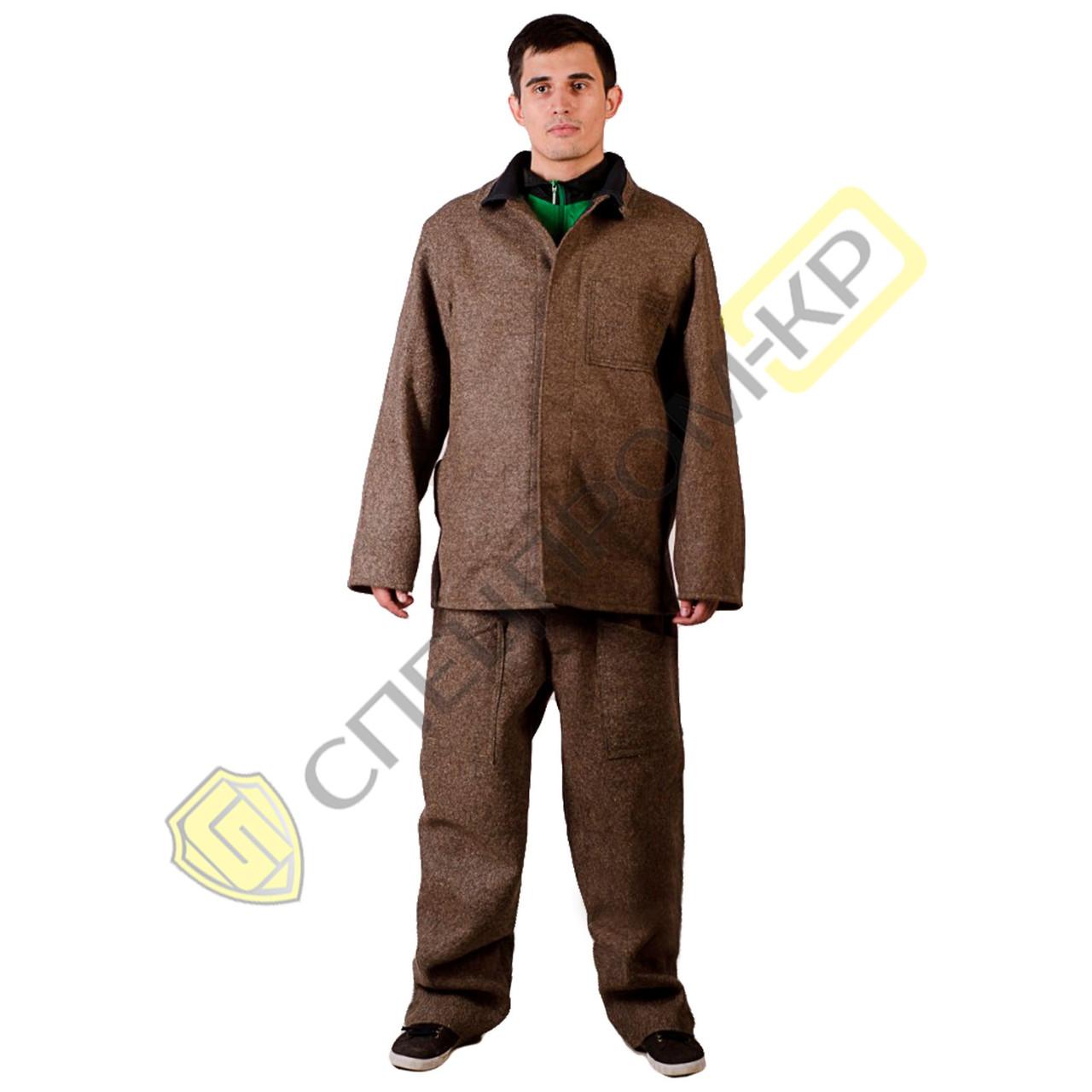 Суконные костюмы металлурга ОП