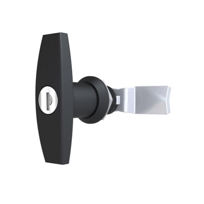 Т образная ручка замок для шкафов управления RZ 1201-103-218, под один ключ (3333)