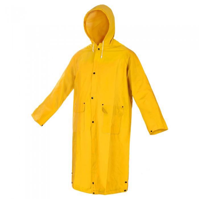 Плащ вологозахисний ПВХ PPD жовтий