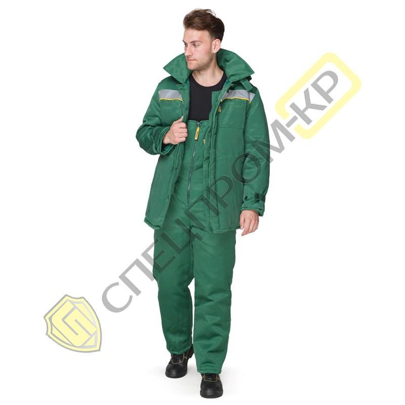 Куртка утепленная Легион зеленая