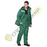 Куртка утепленная Легион зеленая, фото 2