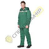 Куртка утепленная Легион зеленая, фото 3