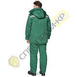 Куртка утепленная Легион зеленая, фото 4