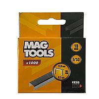 Скоба Magtools для степлера 10 мм, упаковка 1000 шт, ширина 11.3 мм J/53 (030433)