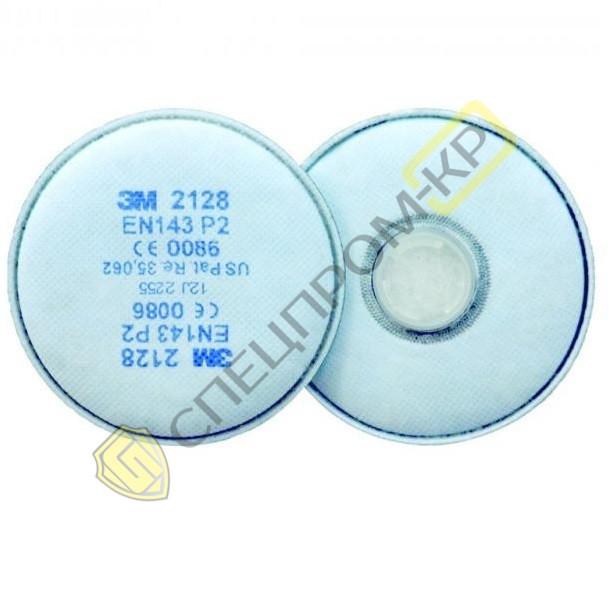 2128 Противоаэрозольный фильтр 3M (класс защиты P2R)
