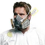 6051 Фильтр 3М с защитой от органических газов и паров (класс защиты A1), фото 3