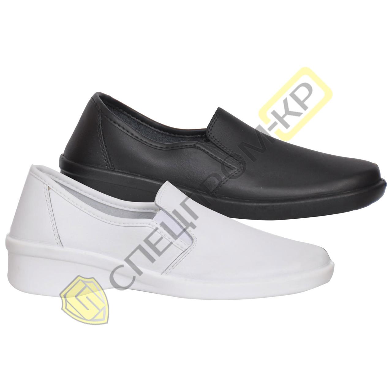 Кожаные Туфли женские 02-11