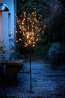 Светодиодное Дерево-гирлянда для использовании на улице (высота 150 см, 120 LED лампочек )