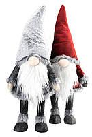 Новогодняя игрушка из текстиля санта - гном, высота 70 см, фото 1