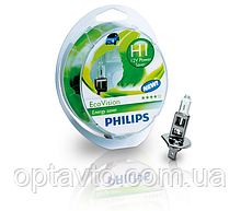 Авто лампа H1 \ PHILIPS 55W 12V (P14,5s) EcoVision