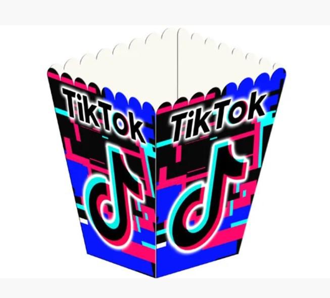 Коробочка для попкорну tik tok