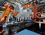 Виды промышленных роботов от производителя KUKA