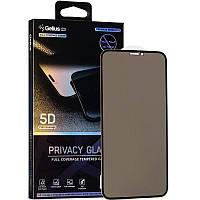 Защитное стекло Gelius Pro 5D Privasy Glass для iPhone 12 Max Black