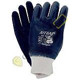 Перчатки МБС покрытые нитрилом мягкий эластичный манжет, фото 2