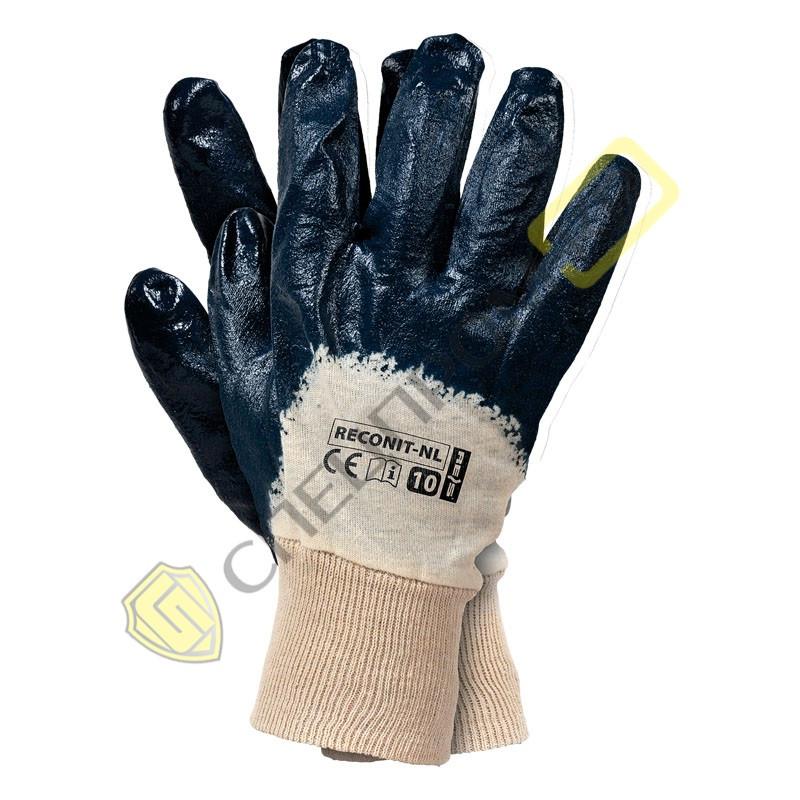 Перчатки МБС неполная заливка вязаный манжет