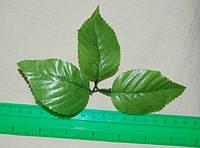 Листья тканевые и пластиковые
