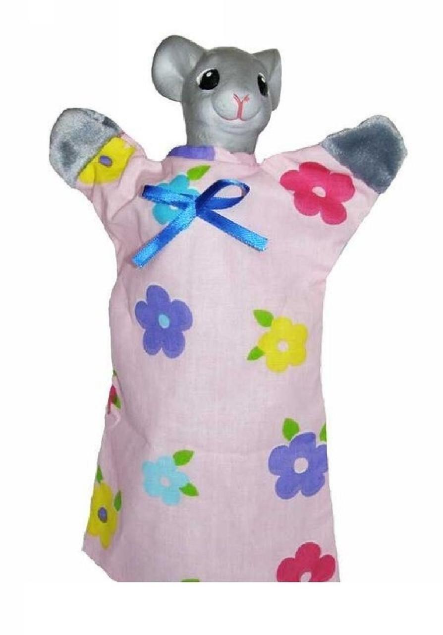 Кукла-рукавичка МЫШКА (пластизоль, ткань), B082