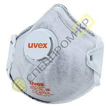 Респиратор Uvex 2220 FFP2/N95 silv-Air  c клапаном