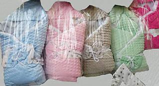 Плюшевый теплый мягкий конверт-одеяло для новорожденных