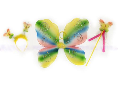 Набор бабочки: крылья 46*37см, обруч, палочка, 0900-119_2011
