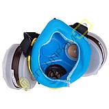 Респиратор Тополь марка А1Р1 (комплект с фильтрами), фото 3