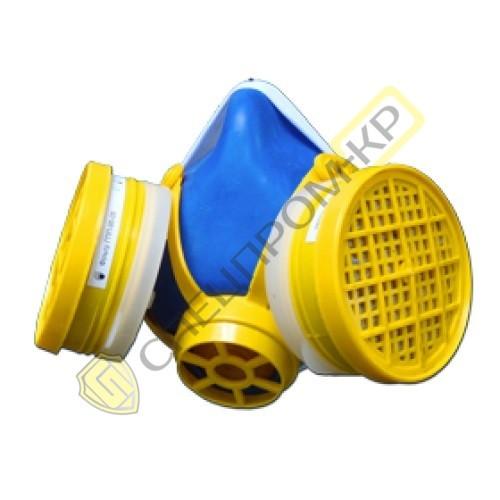Респиратор (полумаска) «Тополь» с фильтрами К1Р1