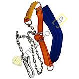 Пояс предохранительный безлямочный ПБ (M) со стропом цепным К55, фото 2