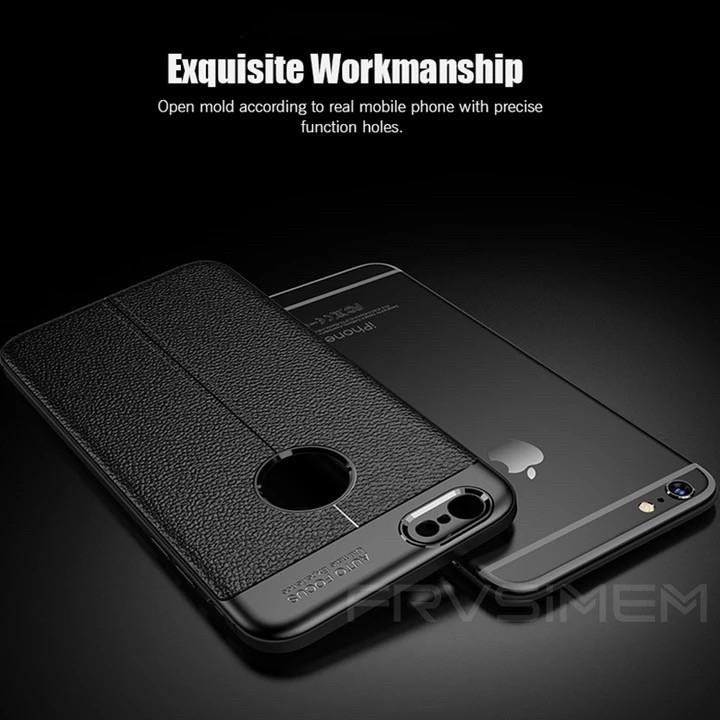 Силиконовый чехол + стекло защитное для Iphone 7 plus/Iphone 8 plus, чёрный