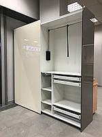 Шкаф купе hettich фасады niemann возможна продажа без фурнитуры внутри. сетки для обуви, бижутерии, брючницы, фото 1