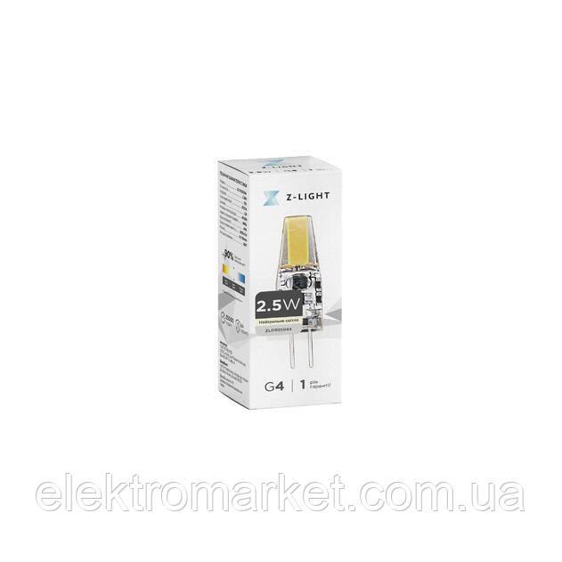 LED лампа Z-Light 2,5W, G4, 225lm,12V (ZL 11025044)