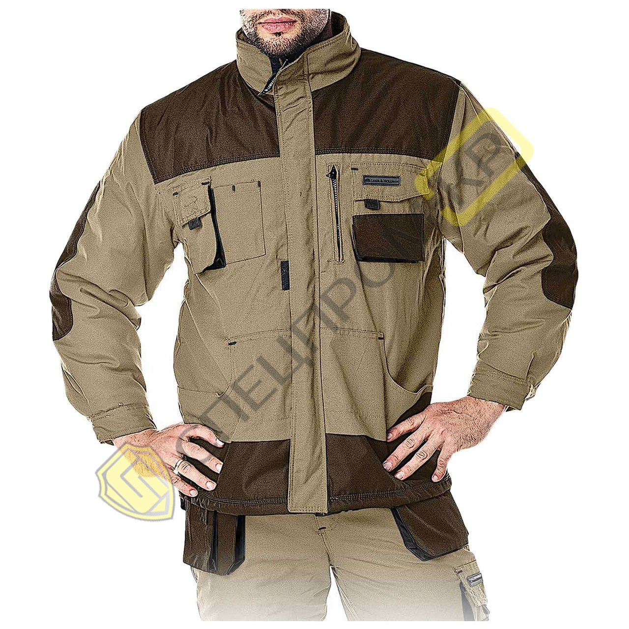 Куртка утепленная FORMEN бежевая