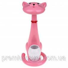 Настольная лампа  SMD LED 6W (кот) Felix розовый 350Lm 04902800060