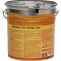 GRAVIHEL полиуретановая эмаль для дерева 600-002, полуматовая 3,7Л
