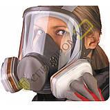 Полнолицевая маска 6800, размеры: S–L, фото 2