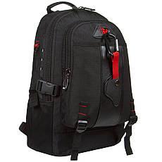 Рюкзак міський Star Dragon 39х28х16 тканина поліестер чорного кольору ксА681ч, фото 2