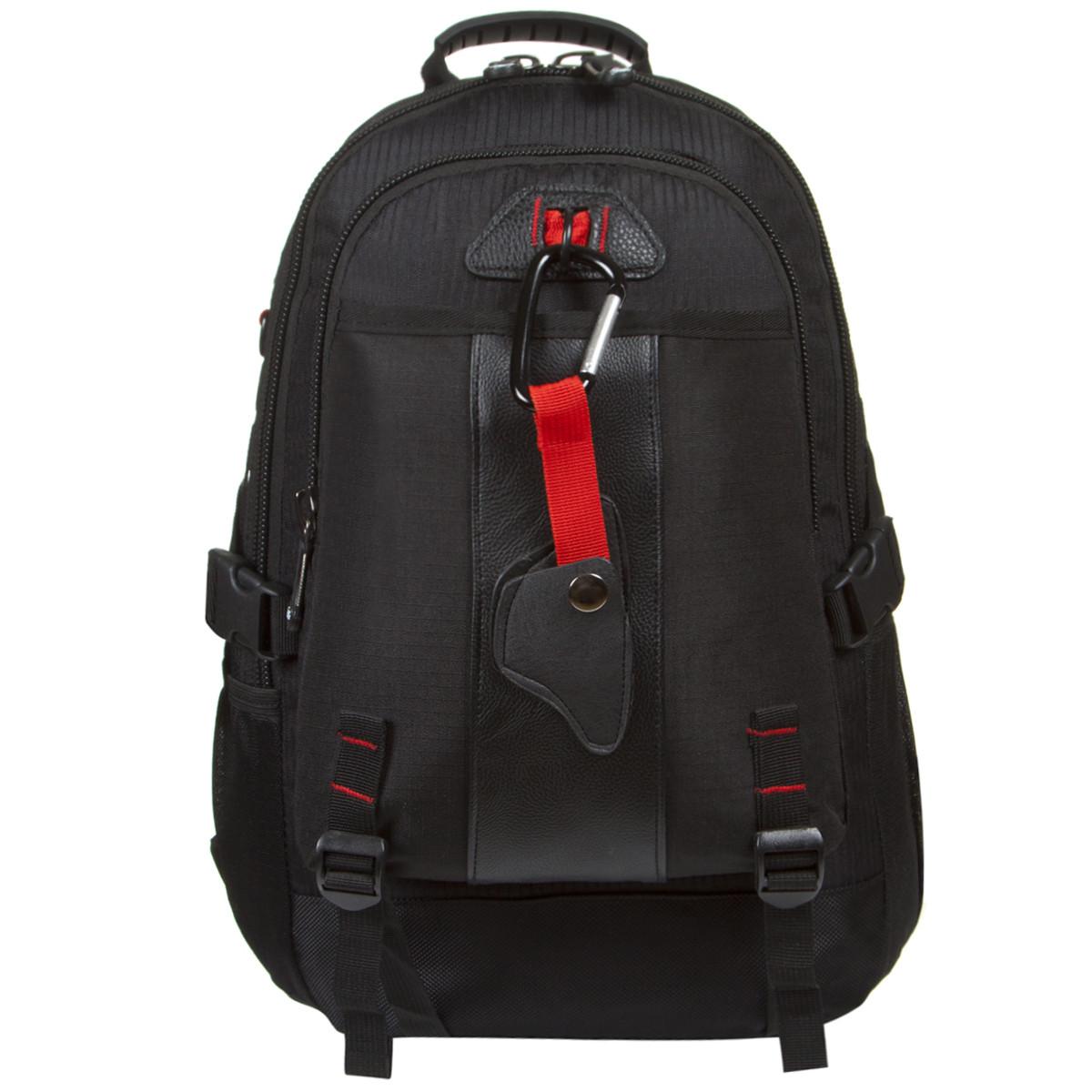 Рюкзак міський Star Dragon 39х28х16 тканина поліестер чорного кольору ксА681ч