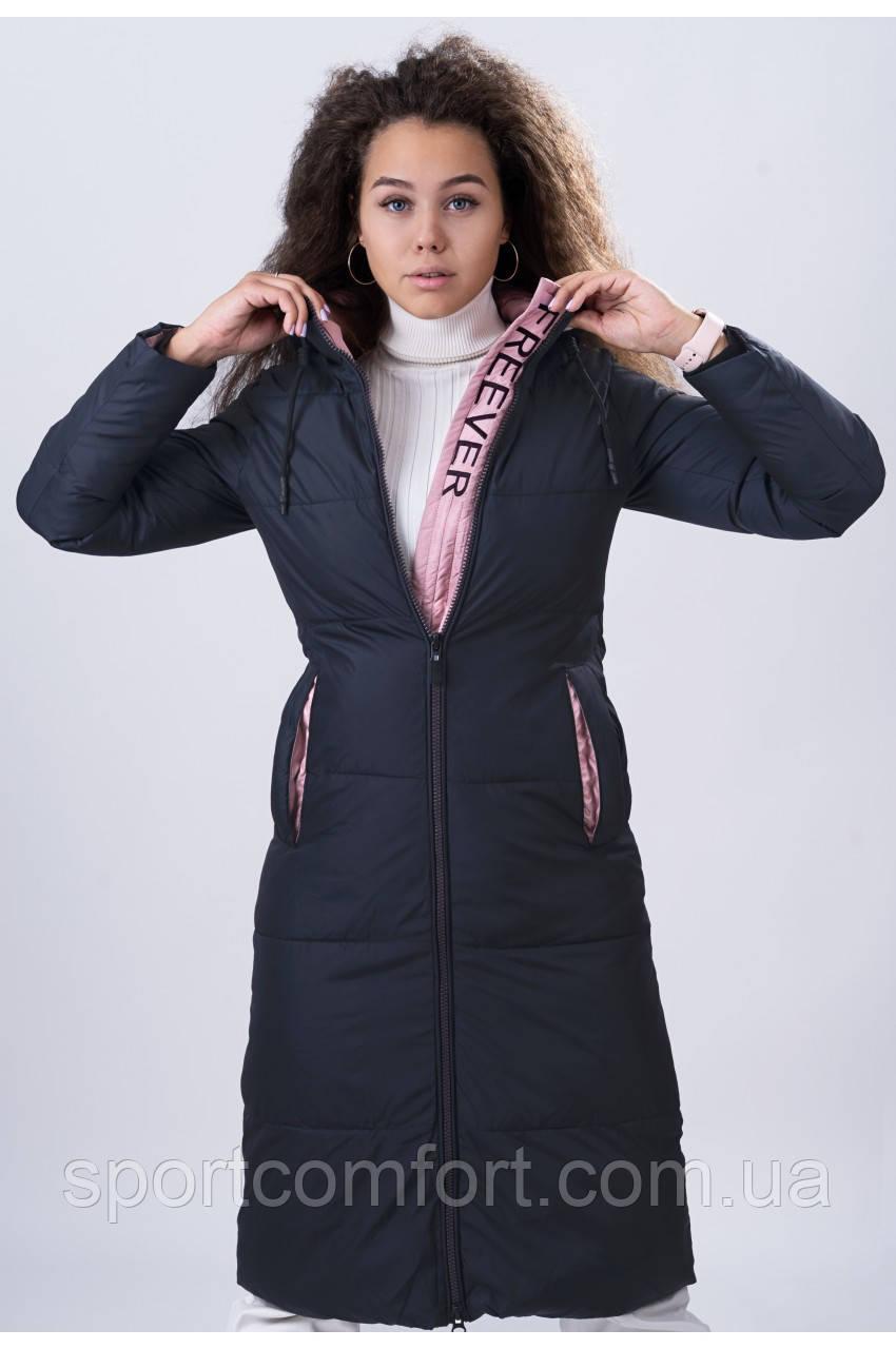 Пальто женское Freever т. синие