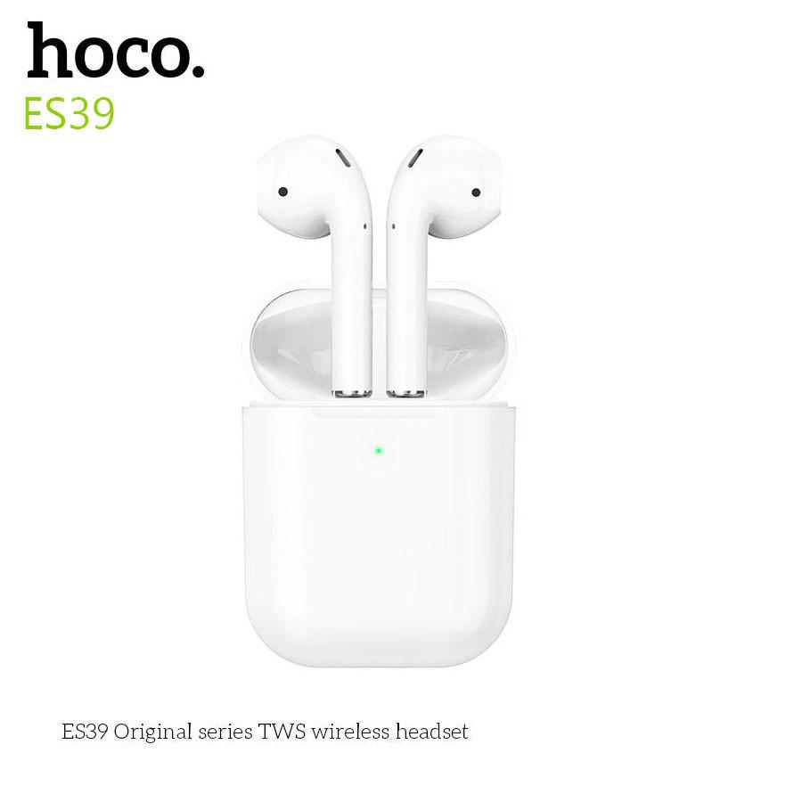 Гарнитура bluetooth Hoco ES39 Оригинал Вкладыши Bluetooth Прямой Белый Наушники Пластик Без крепления