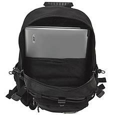 Рюкзак міський Star Dragon 39х28х16 тканина поліестер чорного кольору ксА681ч, фото 3