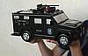 Дитячий сейф з кодом і відбитком пальця у вигляді поліцейської машини Cash Truck, фото 3