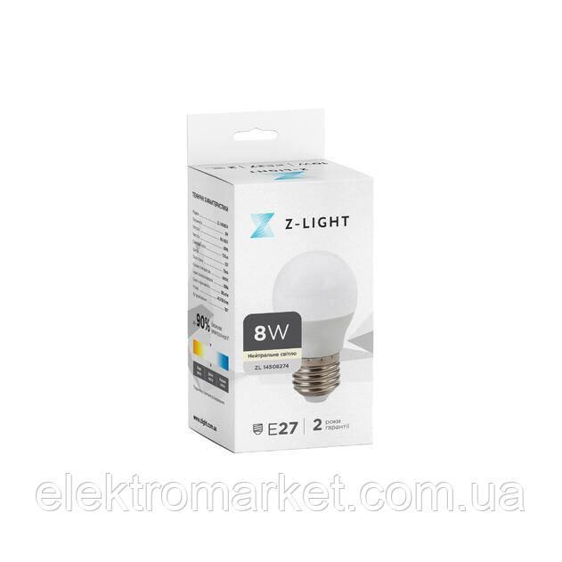 LED лампа Z-Light 4W,MR16 GU5.3 ,220V, 720lm (ZL 1031)