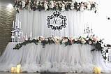 Свадебная монограмма из дерева | Монограмма на свадьбу с инициалами | Монограмма деревянная на заказ, фото 2