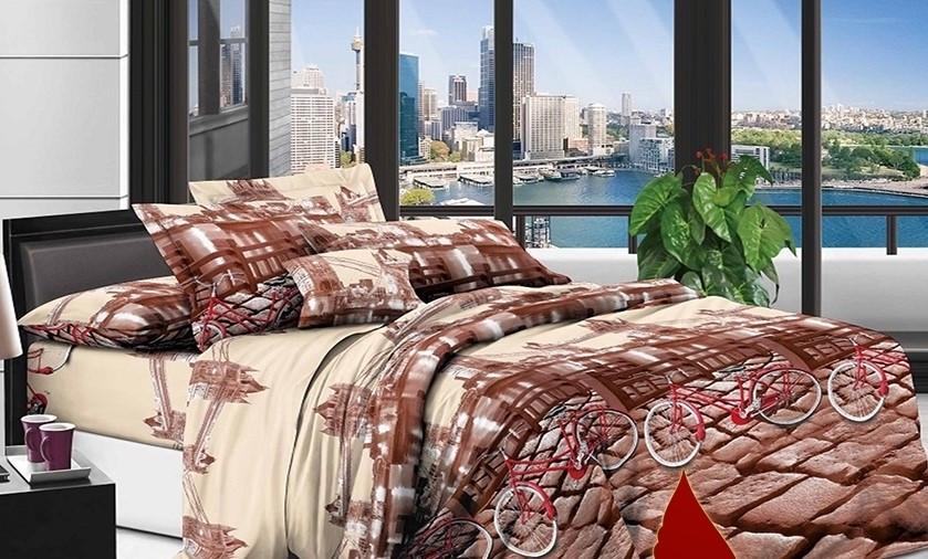 """Комплект постельного белья из ранфорса ТМ """"Ловец снов"""", Однажды в Лондоне"""