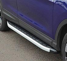 Подножки на Peugeot Rifter (c 2019--) Пежо Партнер PRS
