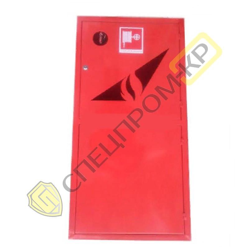 Шкаф пожарный 1200*600*230 одностворчатый с полкой с задней стенкой