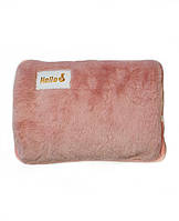 Грілка-муфта для рук рожева