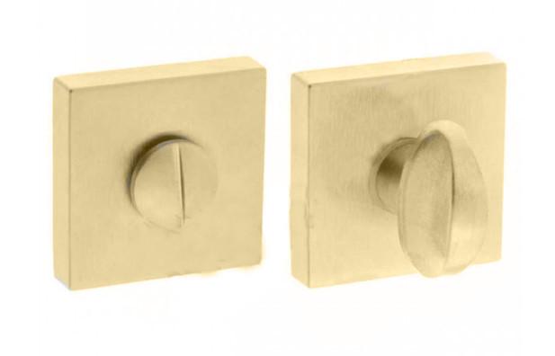 WC-фиксатор для дверей Forme Q латунь матовая (Италия)