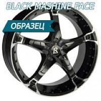FBC   20/5*114,3/38  8.0J  h 73.1    5013 Black Machine Face