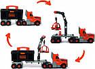 Ігровий набір Smoby Toys Black+Decker Вантажівка з інструментами, фото 6