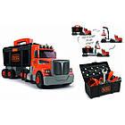 Ігровий набір Smoby Toys Black+Decker Вантажівка з інструментами, фото 2